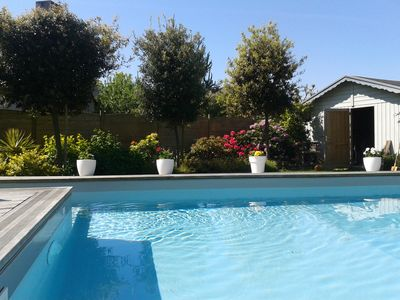 Photo for HOUSE WITH PRIVATE POOL HEATED 28 °