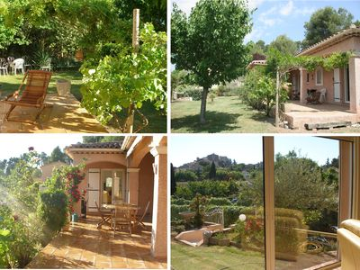 Photo for Villa conditioned charming Provencal 160 m² stunning views