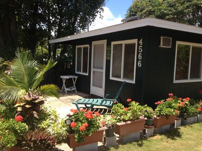 Photo for Kapaa, Kauai Coconut Coast  Ohia Kai Cottage - Budget Vacation Rental TVNC1354