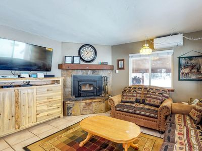 Photo for Classic mountain-style cabin w/ private hot tub & outdoor firepit - dogs welcome