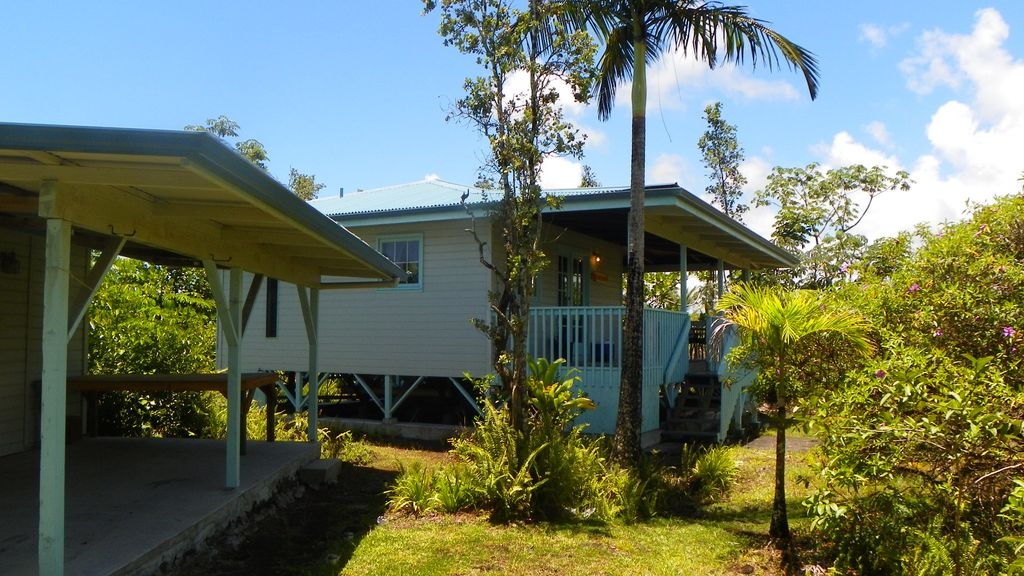 Secluded centrally located old hawaii feel relaxing lanai for Lanai structure