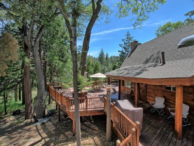 Photo for Rustic Luxury 🌲 2 Master Suites 🌲 Wide Open Wooded Views 🌲 Large Private Deck