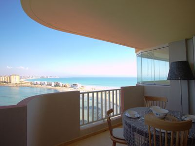Photo for Luxury front line apartment with stunning views
