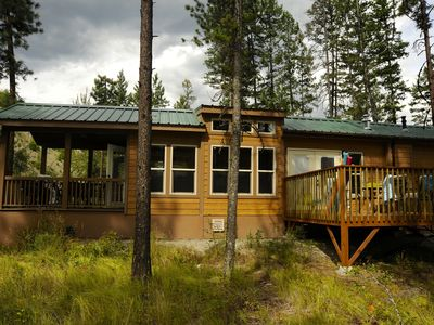 New Cabin Built in July 2013.  Sleeps 6.  Pets Welcome