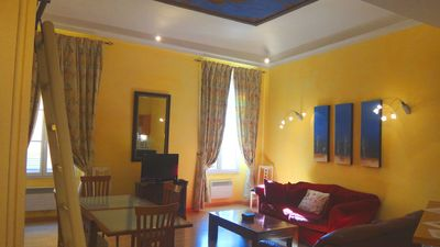 Photo for Historic 2-bedroomed apartment in the heart of Old Town Nice, close to the beach