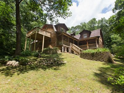 Photo for 4BR Cabin Vacation Rental in Hendersonville, North Carolina