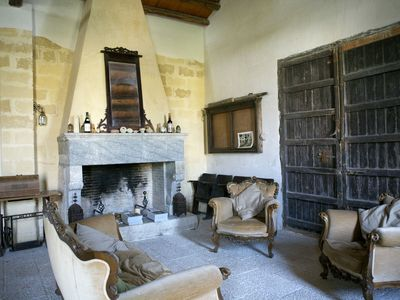 Photo for LARGE HISTORICAL VILLA BETWEEN THE SEA COAST AND THE VINEYARDS - Wi-Fi