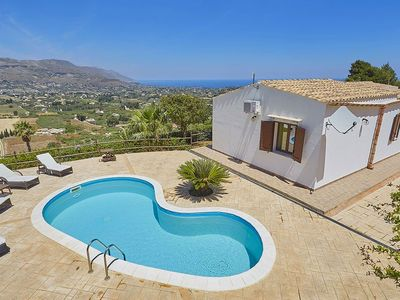 Photo for Villa Fausta in western Sicily, with private pool, 2 bedrooms, 5 sleeps