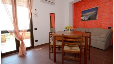 Photo for Three-room apartment 42 square meters with a veranda facing the sea
