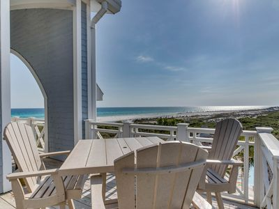 Photo for Penthouse Condo, Gulf Views, Community Pool!