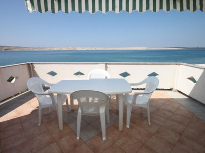 Photo for Two bedroom apartment near beach Kustići (Pag)
