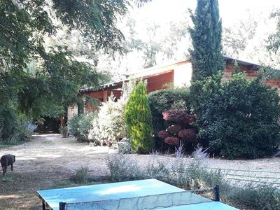 Photo for Chalet with pool between Orange Avignon Chateauneuf du pape.