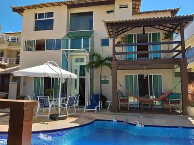 Photo for 6 bedroom mansion facing the beach in Cabo Frio- JUST FAMILIES
