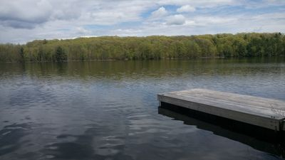 Photo for COZY PRIVATE COTTAGE WITH BOAT LAUNCH, ON BEAUTIFUL BOBS LAKE ON.
