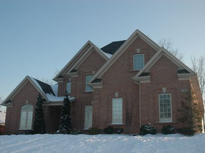 Photo for Beautiful all brick 4+bedrm, 5 bath, finished basement, only 10-20 min from fun!