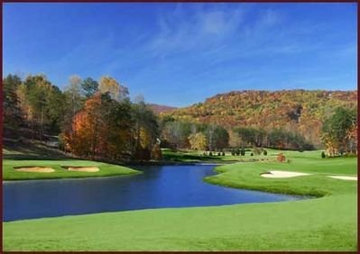 Golf Galore in Lake Lure- make sure to bring your clubs and your game!