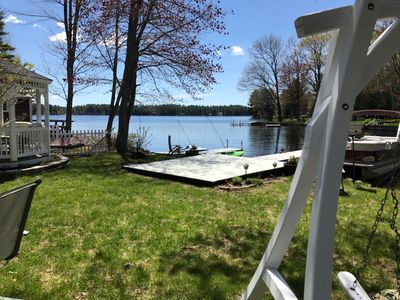 Photo for Waterfront Lake Home on Little Ossipee Lake Sleeps 6-8