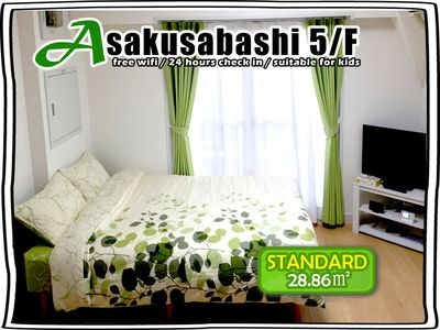 5/FAsakusabashi BLDG  for 2-4 ppl