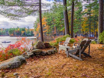 Photo for Dog-friendly lakefront home w/dock, swing & great location - perfect for kids!