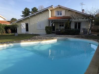 Photo for Landaise house Arcachon basin - Andernos - 8 to 9 people with swimming pool