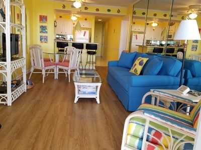 Photo for Atlantic Beach Ocean Front Condo Beautifully Decorated