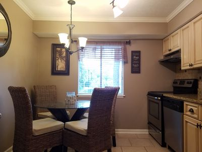 Photo for Newly updated 2 bedroom villa, minutes to beach, washer & dryer, WiFi, in villa.