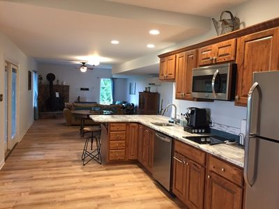 Full Kitchen with Custom Cabinets and Granite Counters!