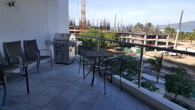 Terrace with barbecue grill