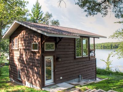 Photo for Lakefront 1BR Brainerd Cabin - Great Fishing!