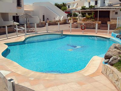 Photo for Spacious two bedroom villa in Las Adelfas, Golf Del Sur
