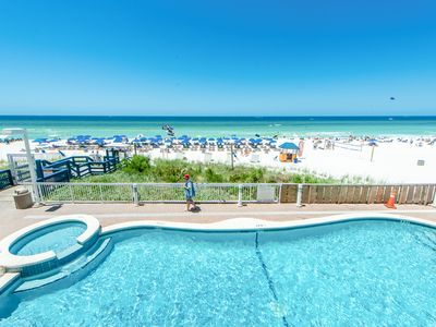 Photo for ☀Gulf FRONT for 6 @ Seychelles 207☀2 BchFront Pools-Jun 29 to Jul 1 $707 Total!