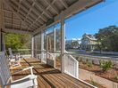 Enjoy the breeze on the screened front porch