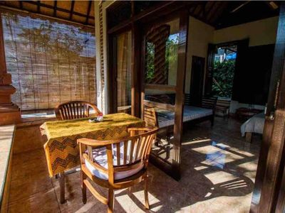 Photo for HOT DEAL!1BR Authentic Lodge in the Centre of Ubud