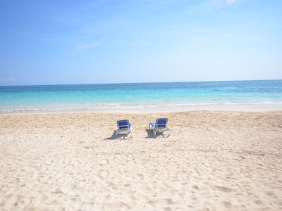 Photo for BEACHFRONT! FAMILY! FULLY STAFFED! POOL! SECURITY! Red Fox, Silver Sands 4BR
