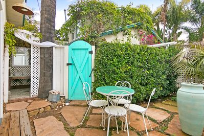 Miraculous Romantic Studio Cottage W Private Patio Walk To Beach Near Shops Dining Santa Barbara Complete Home Design Collection Epsylindsey Bellcom