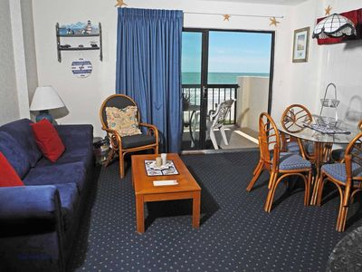 Photo for Crescent Tower 1 Unit 104! First Floor Oceanfront Condo! Book now for best rates!