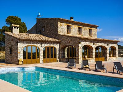 Photo for VENDIMIA - Lovely holiday country house in the rural area of Benissa