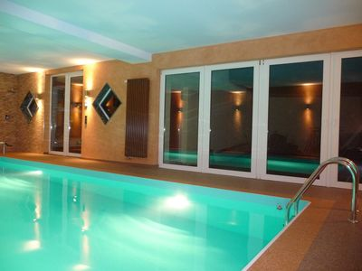 Photo for Chalet with garden and private pool