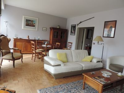 Photo for Apartment located in the Maisons Laffitte park in an exceptional site