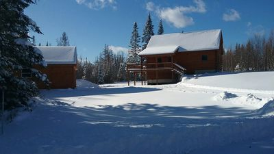Photo for Newer Log Home In Twin Mountian Near Bretton Woods And Cannon Mountain
