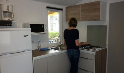Photo for Camping Domaine de Léveno **** - Mobile home 4 Rooms 6/7 People