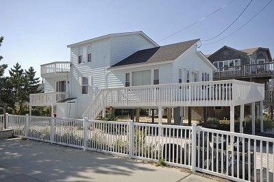 Front View of Sun Setter as Seen From the Beach in Surf City at South 2nd Street