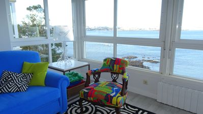 Photo for OFFER Apartment with wonderful views of the bay of La Coruña
