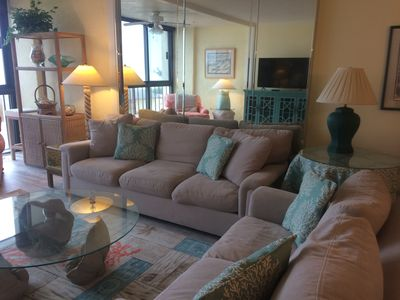 Photo for Ocean front condo in Premier complex at Wrightsville Beach