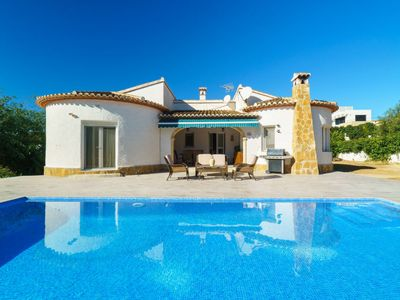 Photo for 3 bedroom Villa, sleeps 6 in Casas Abiar with Pool, Air Con and WiFi