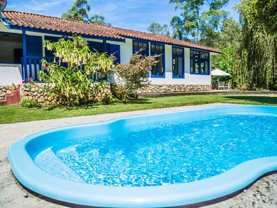 Photo for Site wide, warm calm with gourmet, lake, river with natural swimming pool