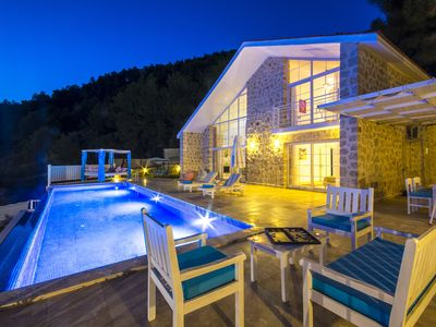 Photo for Perfect Getaway  Villa for Honeymoon Couples /Small Families in Islamlar Kalkan