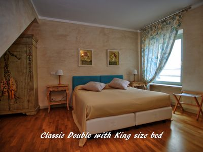 Photo for Classic rooms with double bed and breakfast included in the morning