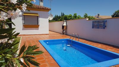 Photo for Villa with pool, ADELFA CHAPARRRILO, 2.5km from Conil, capacity 6 people