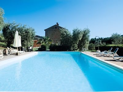 Photo for LAST MINUTE -20% OFF AN OLD MILL  RESTRUCTURED TYPICAL APARTMENTS  POOL WI-FI FREE  NEAR SIENA AND SAN GIMIGNANO